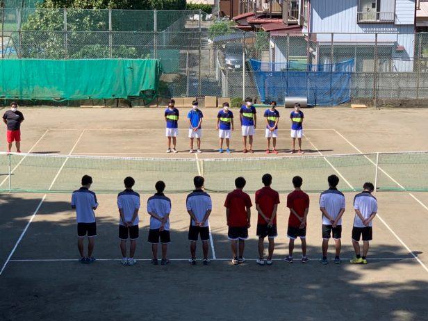 テニス部(新人団体地区予選男子①2021102)