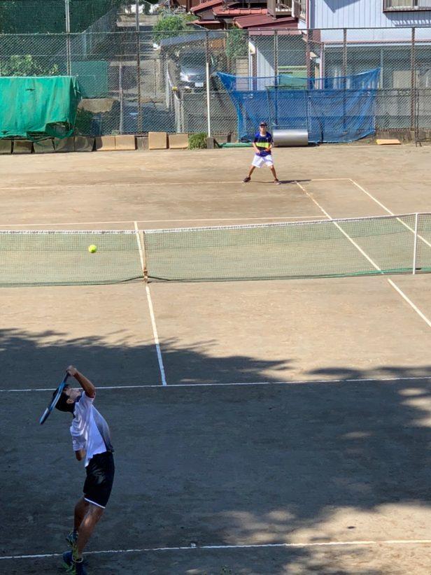 テニス部(新人団体地区予選男子②2021102)