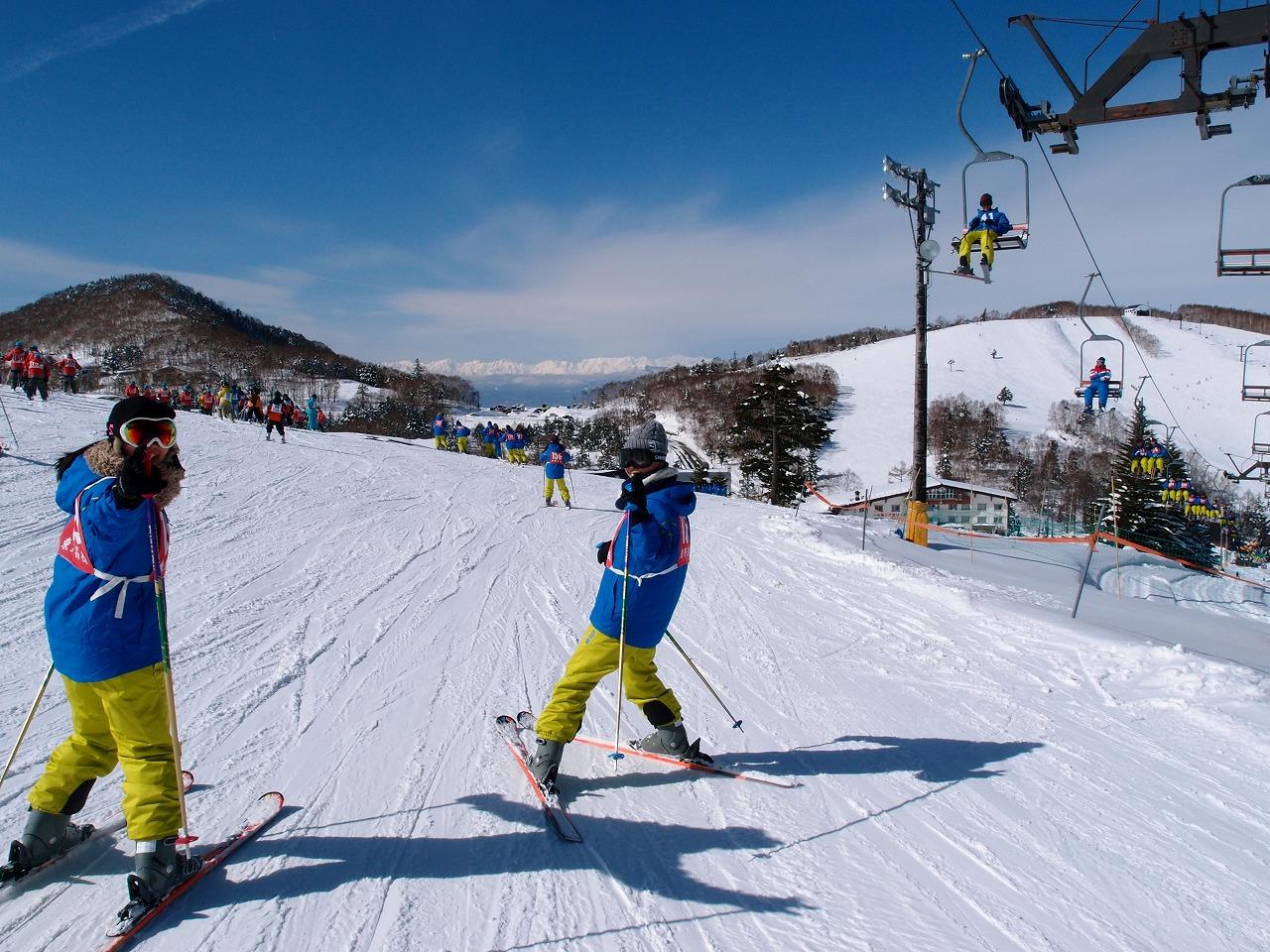 スキー実習2日目2