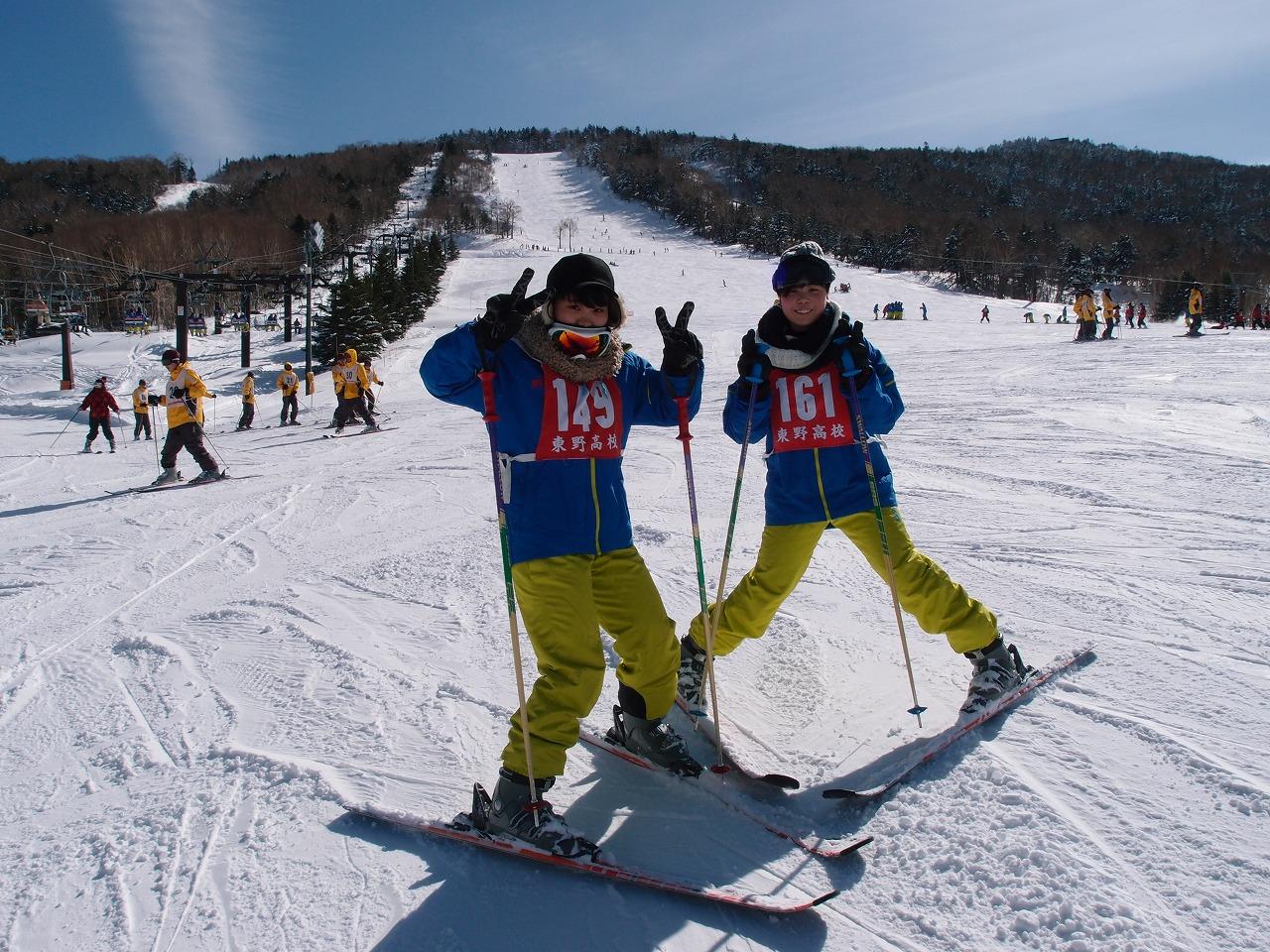 スキー実習2日目1