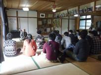 伊江島の「謝花さん」の講話