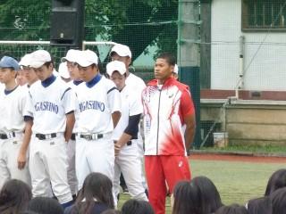 インターハイ進出に加え、世界ジュニア陸上の日本代表に選抜されたウォルシュ選手