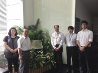 同社シンガポール開発センタースタッフと