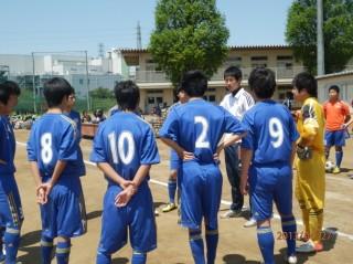 インターハイ予選 埼玉県西部地区大会 1回戦 新座総合高校戦