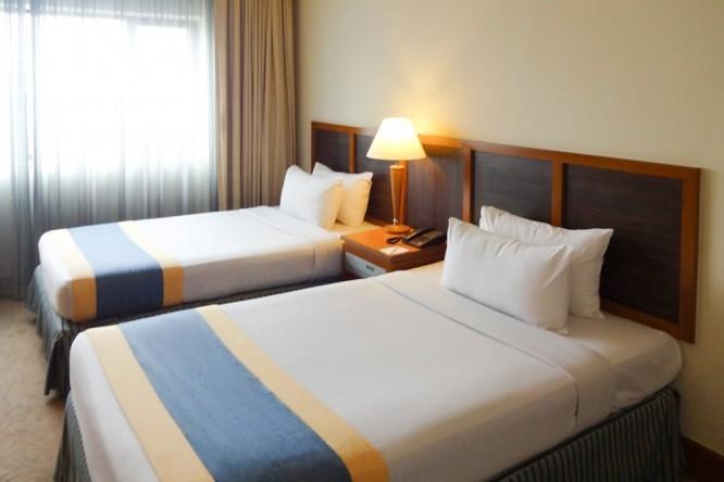宿泊先GRAND SEASONS HOTELの視察