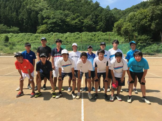 テニス部2018夏合宿③